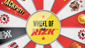 Wheel of Rizk onnenpyörä.